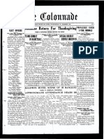 The Colonnade - Second Edition - December 1925