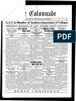 The Colonnade - First Edition - December 1925