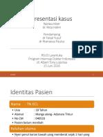 Presentasi Kasus Appendisitis Perforasi