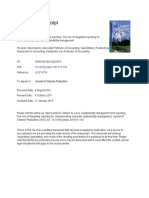 Sustainability Management and Reporting