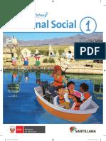 Cuaderno de Fichas Personal Social 1. Primer Grado de Secundaria
