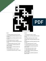 Crucigrama Verbos Irregulares Inglés