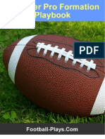 Beginner Pro Formation Playbook