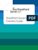 Share Point Governance Checklist _v1_AM102306291033