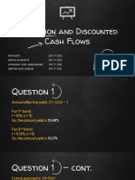 Valuation and Discounted Cash Flows