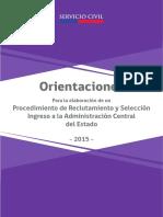 07. Orientaciones Procedimiento Reclutamiento y Selección