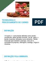 Tecnologia e Processamento de Carnes