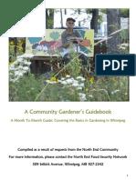 Community Gardener Guidebook