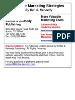 Dan S Kennedy - 63 Killer Marketing Strategies (1)