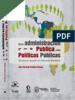 2012 de La Administracion Publica a Las