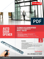 Glass Door Opener SGD 304-Min