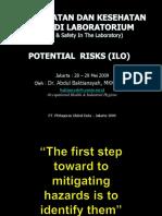 002 - Lab Safety - Potensi Risiko Di Lab