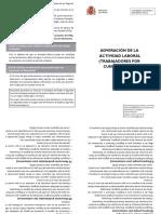 Adveracion de La Actividad Laboral Autonomos