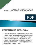 Propaganda e Ideologia