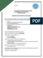 Creación de Central Ip en Elastix - Gabrielabeltrán