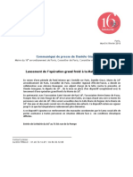 CP de Danièle Giazzi, Mairie Du 16e, Lancement Du Plan Grand Froid