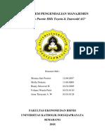 TUGAS SPM Ke-7 Studi Kasus Puente Hills Toyota & Zumwald AG