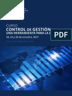 Control de Gestión - ver temarios, enfoque, costos, dirigido a, UC, 2017.pdf