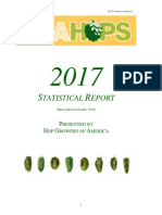 The 2017 Statistical Report from Hop Growers of America