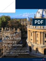 Oxford Blockchain Strategy Programme Prospectus