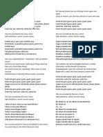 Sunata Hai Guru Gyani (Kabir) Lyrics