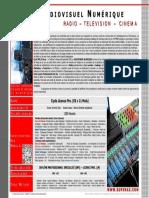 Fiche Prog Imax_Audiovisuel Licence 2016