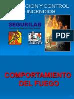 Tacticas en El Combate de Incendios