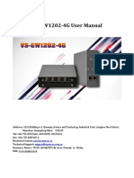 Vs GW1202 4G User Manual