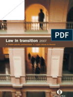 EBRD Law in Transition PPP and Russia