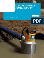 WEDA Pumps 50 Hz Leaflet English