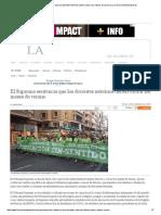 El Supremo sentencia que los docentes interinos deben cobrar los meses de verano _ La Crónica de ELPajarito