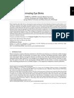 Animating and Tracking Eyes