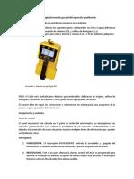 Calibracion de Sensor de Gas