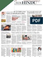 The Hindu Adfree 25-Jan-2018 Delhi Edition Www.iascgl.com