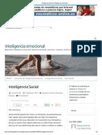Inteligencia Social _ Inteligencia Emocional Artículo