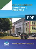 Pedoman Akademik 2015 2016 UIN Syarif Hidayatullah Jakarta