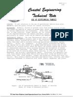 Estructuras de Protección Costera  - Nota técnica n°3
