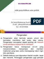 Jkp 204 Kaedah Penyelidikan Sains Politik