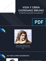 Vida y Obra Giordano Bruno