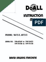 Manual Sierra Doall 2613-3