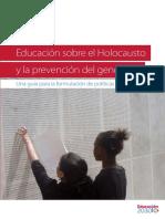 Educacuón Del Holocausto
