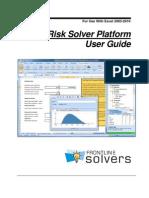 Risk Solver Platform User Guide