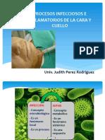 Infecciones de Cara y Cuello, Judith Perez