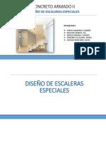 Diseño de Escaleras Especiales DIAPOSITIVAS Helicoidal TEORIA
