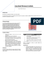 Enfermedad Hemorroidal RESUMEN PDF