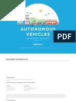 MRCagney Autonomous Vehicles Research Paper