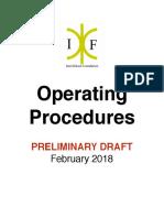 Interlinked Foundation Procedures Manual