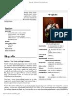 Greg Lake - Wikipedia, La Enciclopedia Libre