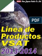 NJR VSAT-Lineup 2013-2014 Spanish