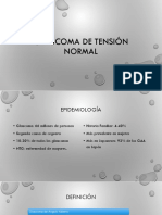 Glaucoma tension normal